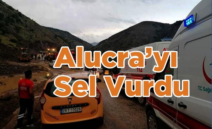 Alucra'yı Sel Vurdu