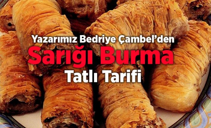 Sarığı Burma Tatlısı