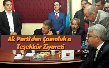 Ak Parti'den Çamoluk'a Teşekkür Ziyareti