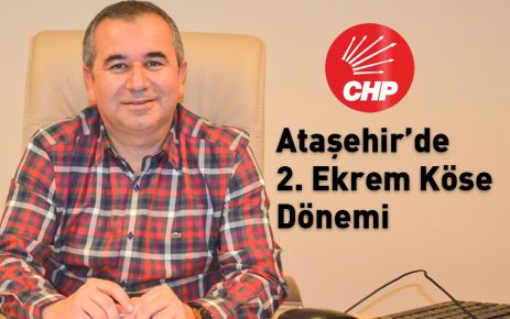 Ataşehir'de 2. Ekrem Köse Dönemi