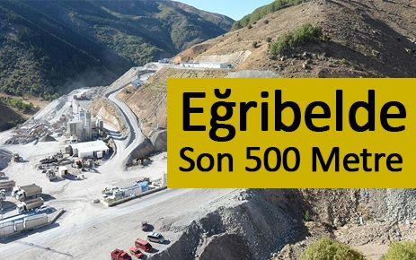 Eğribel'de son 500 metre