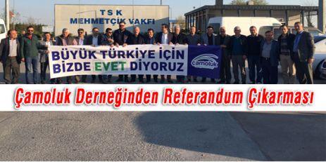 Çamoluk Derneğinden Referandum Çıkarması