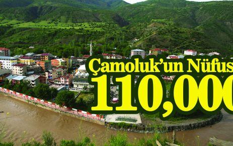 Çamoluk Nüfusu 110 000