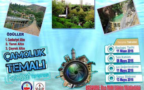 Çamoluk'ta bir ilk 'Fotoğraf Yarışması'