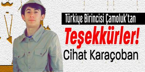 Çamoluk'tan Türkiye Birinciliğine