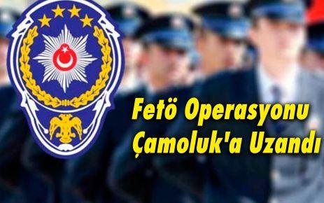 Fetö Operasyonu Çamoluk'a Uzandı