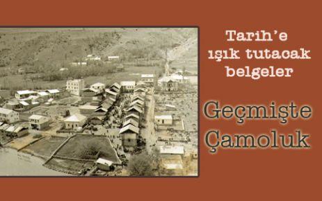 Geçmişte,Çamoluk ve Köyleri