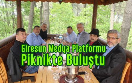 Giresun Medya Platformu Piknikte Buluştu