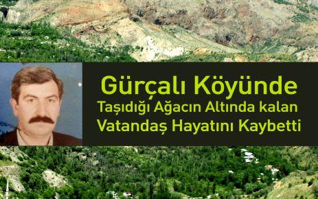 Gürçalı'da Feci Kaza 1 Ölü