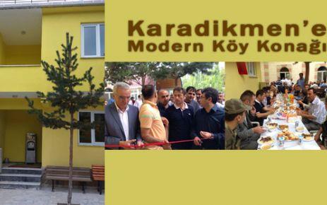 Karadikmen'e Modern Köy Konağı