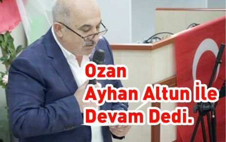 Ozan, Ayhan Altun İle Devam Dedi.