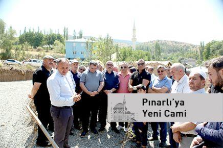Pınarlı'ya Yeni Cami