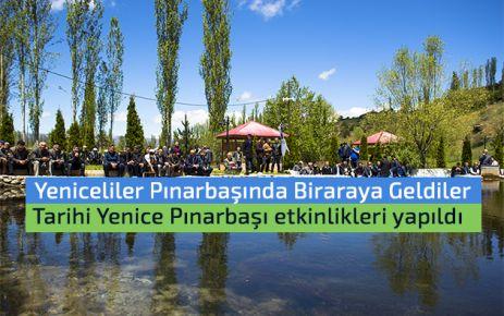 Tarihi Yenice Pınarbaşı etkinlikleri yapıldı