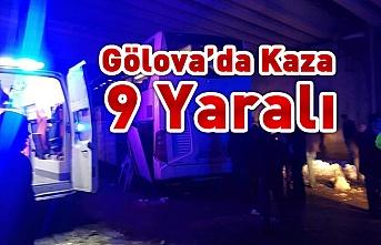 Gölova'da Kaza 9 Yaralı