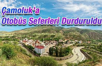 Çamoluk İstanbul Seferleri İptal!