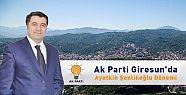 Ak Parti Giresun'da Aytekin Şenlikoğlu...