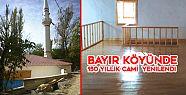 Bayır Köyünde 150 Yıllık Cami Yenilendi