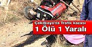 Çakılkaya'da Trafik kazası 1 Ölü 1...
