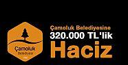 Çamoluk Belediyesine 320.000 TL'lik Haciz