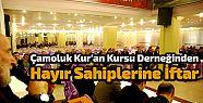 Çamoluk Kur'an Kursu Derneğinden Hayır...