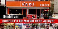 Çamoluk'a bir Market daha açılıyor