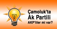 Çamoluk'ta Ak Partili 'AKP'liler' mi...