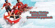 Çamoluk'ta Türkiye Rafting Şampiyonası...