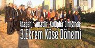 Ekrem Köse Amatör Spor Kulüpleri Birliğine...
