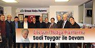 Giresun Medya Platformu Sadi Toygar ile...