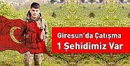 Giresun'da PKK'lı teröristlerle sıcak...
