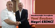 Hacıahmetoğlu Derneğinde Hayri Ekinci...