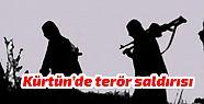 Kürtün'de terör saldırısı!