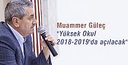Muammer Güleç 'Yüksek Okul 2018-2019'da...