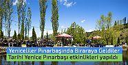 Tarihi Yenice Pınarbaşı etkinlikleri...