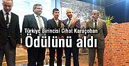 Türkiye Birincisi  Ödülünü Aldı