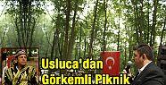 Uslucalılar'dan Görkemli Piknik