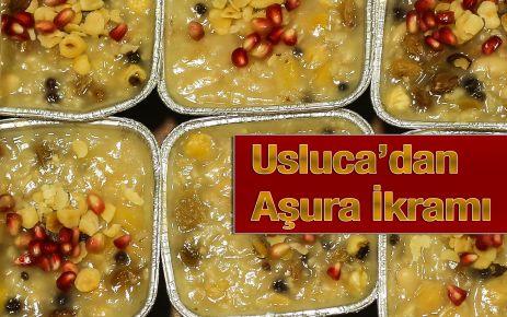 Usluca'dan Aşura İkramı
