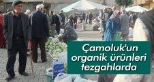 Çamoluk'un organik ürünleri tezgahlarda
