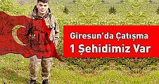 Giresun'da PKK'lı teröristlerle sıcak çatışma