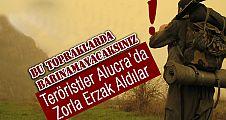 Alucra'da Teröristler Erzak Aldılar