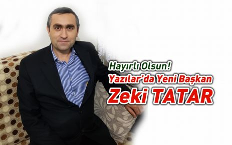 Yazılarda Başkan Zeki Tatar
