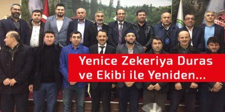 Yenice; Zekeriya Duras ile devam dedi.