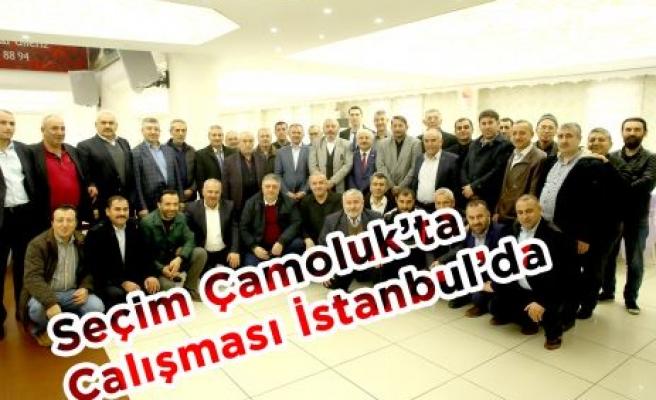 Seçim Çamoluk'ta Çalışması İstanbul'da