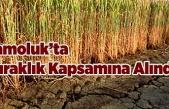 Çamoluk'ta Kuraklık Kapsamına Alındı