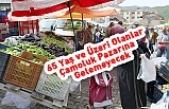 65 Yaş ve Üzeri olanlar Çamoluk Pazarına  Gelemeyecek