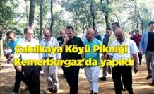 Çakılkaya Köyü Pikniği Kemerburgaz'da yapıldı