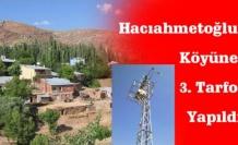 Çamoluk Hacıahmetoğlu Köyüne 3. Trafo