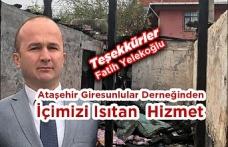 Şefkat Eli Ataşehir'den Uzandı