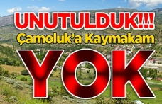 Çamoluk'a Kaymakam Yok!!!