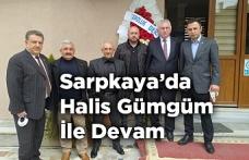 Sarpkaya Köyü Derneğinde Halis Gümgüm ile Devam